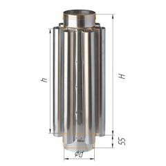 Дымоход конвектор ф130 мм